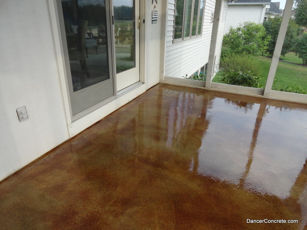 Behr concrete stain countertops joy studio design for How to clean outdoor stained concrete
