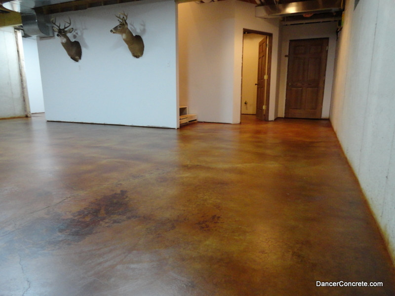 Dyed Concrete Flooring : A breath of fresh air cozy with concrete
