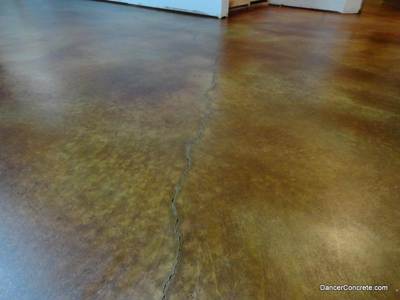 Colored Concrete Floor Portland Dancer Concrete Fort Wayne 7